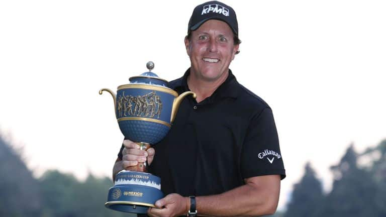 Phil Mickelson WGC Mexico Championship
