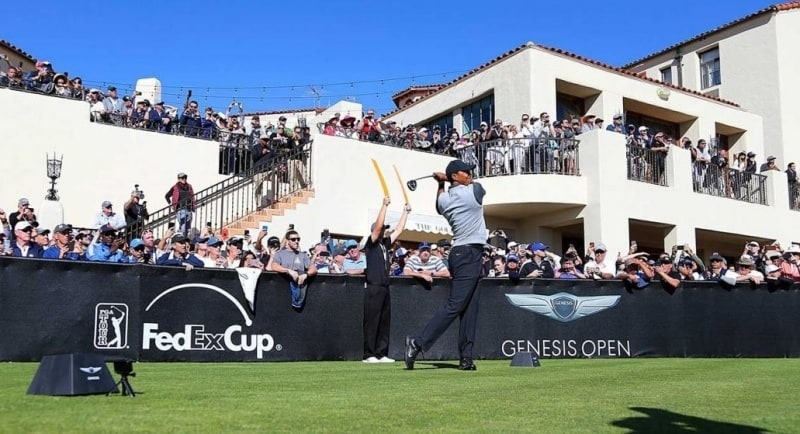 Genesis Open - Tiger Woods