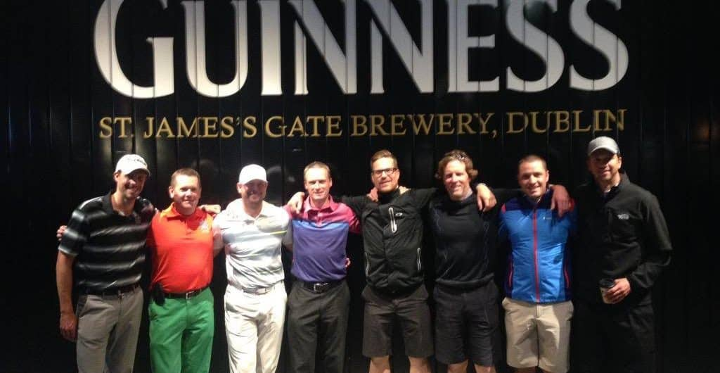 NWC Guiness Golf canada