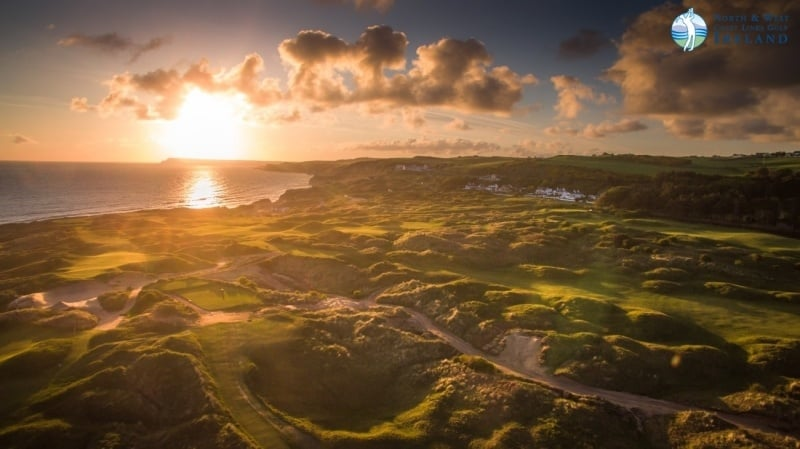 """""""Visually stunning. Incredibly challenging. Outrageously fun"""" – Customer Review, North & West Coast Links Golf Ireland"""