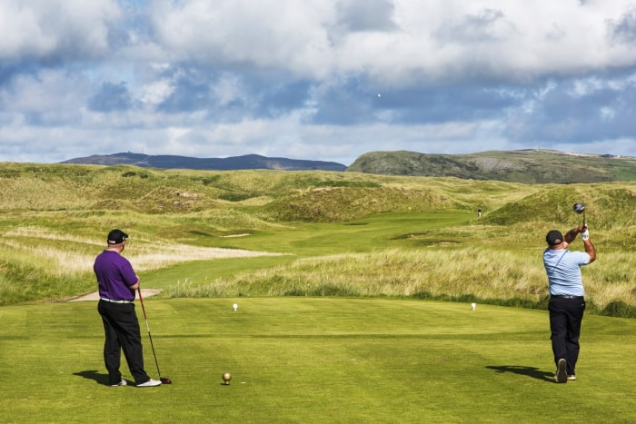 Anyone for a game of golf?, North & West Coast Links Golf Ireland