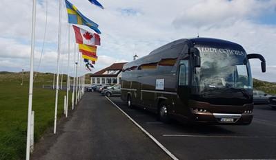 Transport, North & West Coast Links Golf Ireland